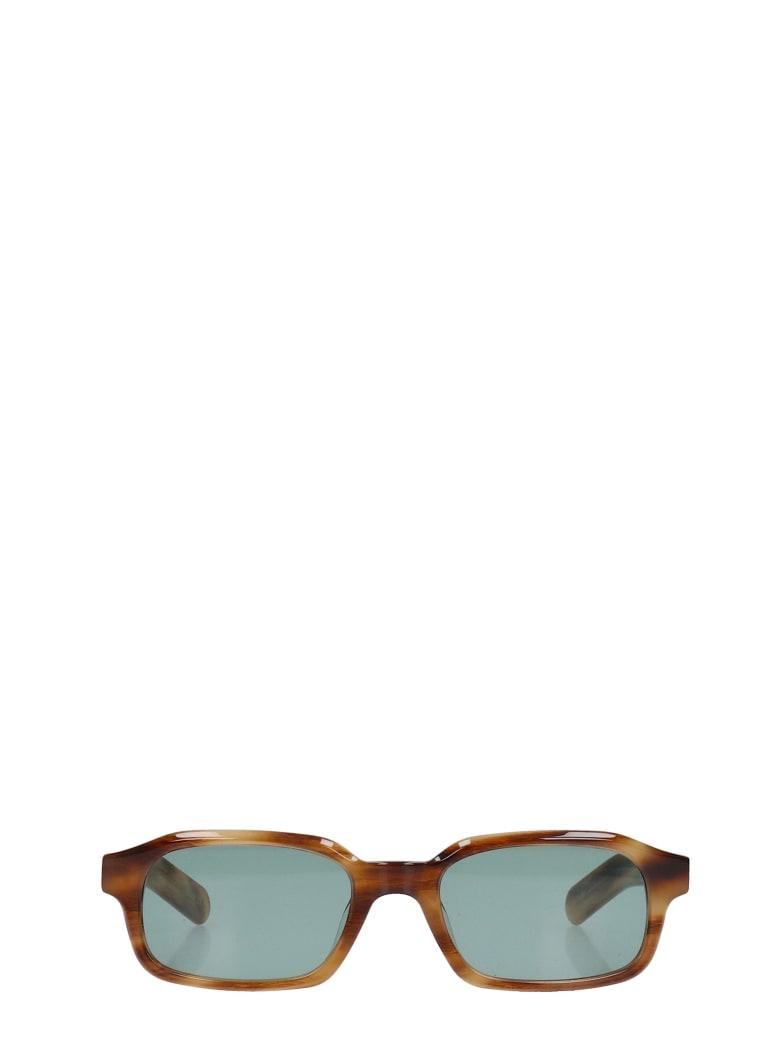 Flatlist Hanky Sunglasses In Brown Pvc - brown