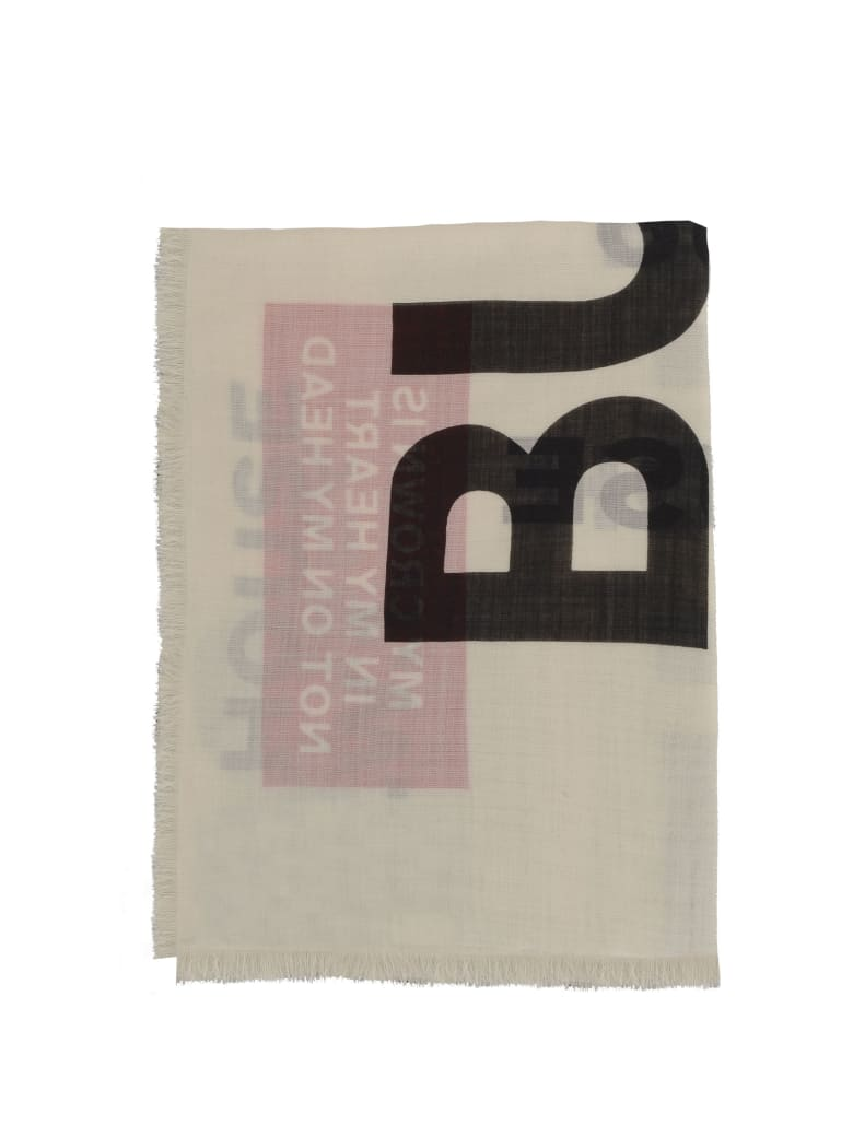 Burberry Scarf - White