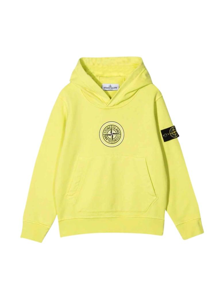 Stone Island Junior Yellow Sweatshirt - Limone