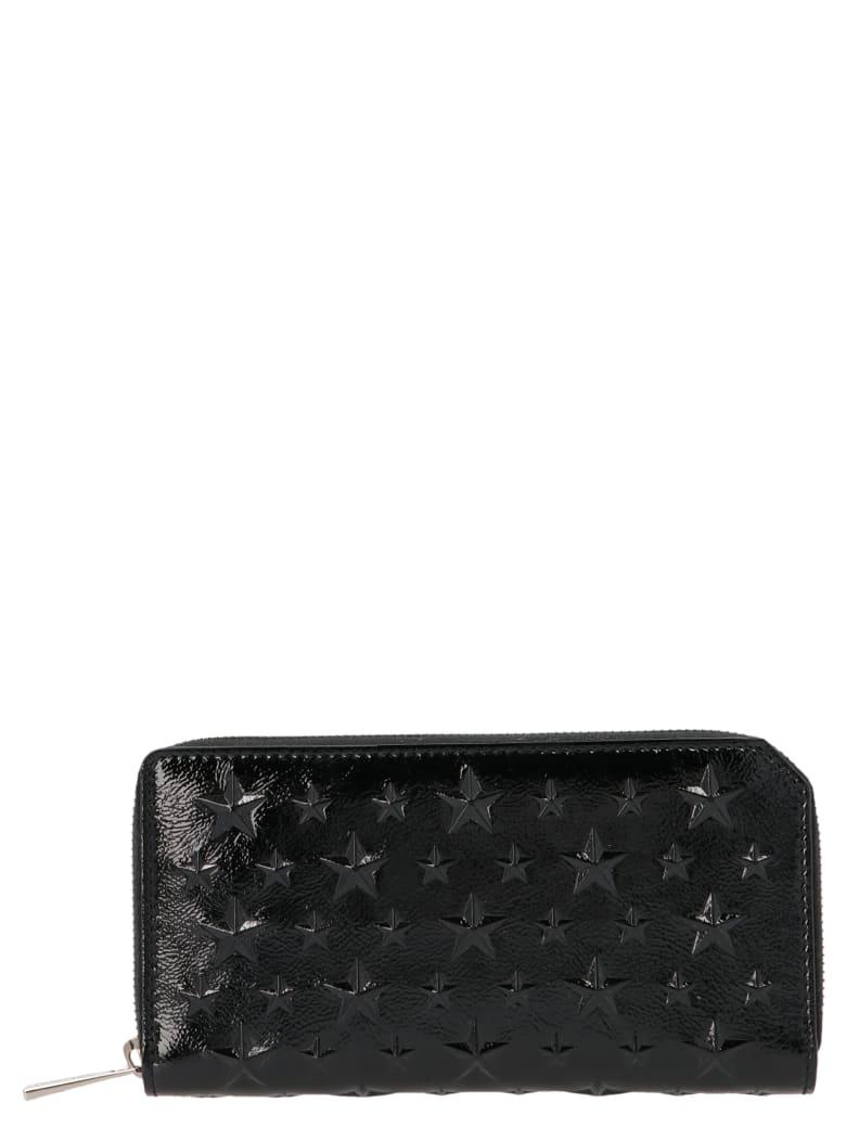 Jimmy Choo 'carnaby' Wallet - Black