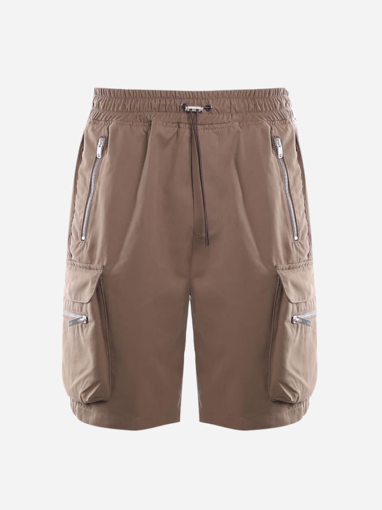 REPRESENT Cargo Shorts Made Of Cotton - Brown