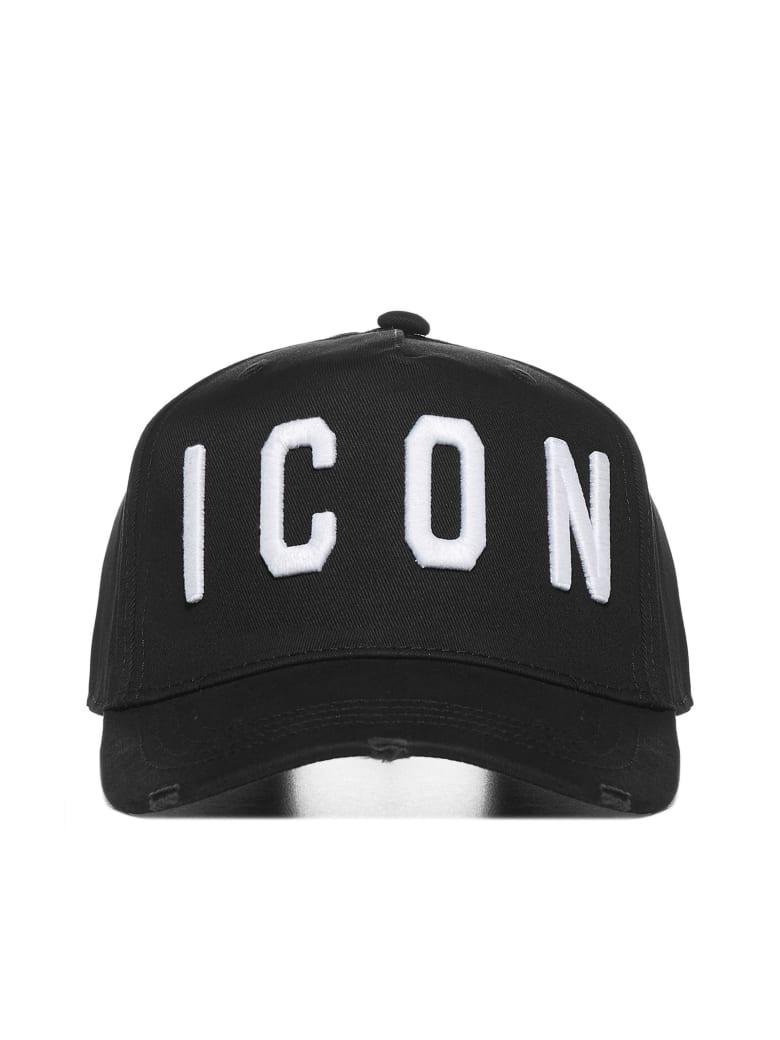 Dsquared2 Hat - Black white