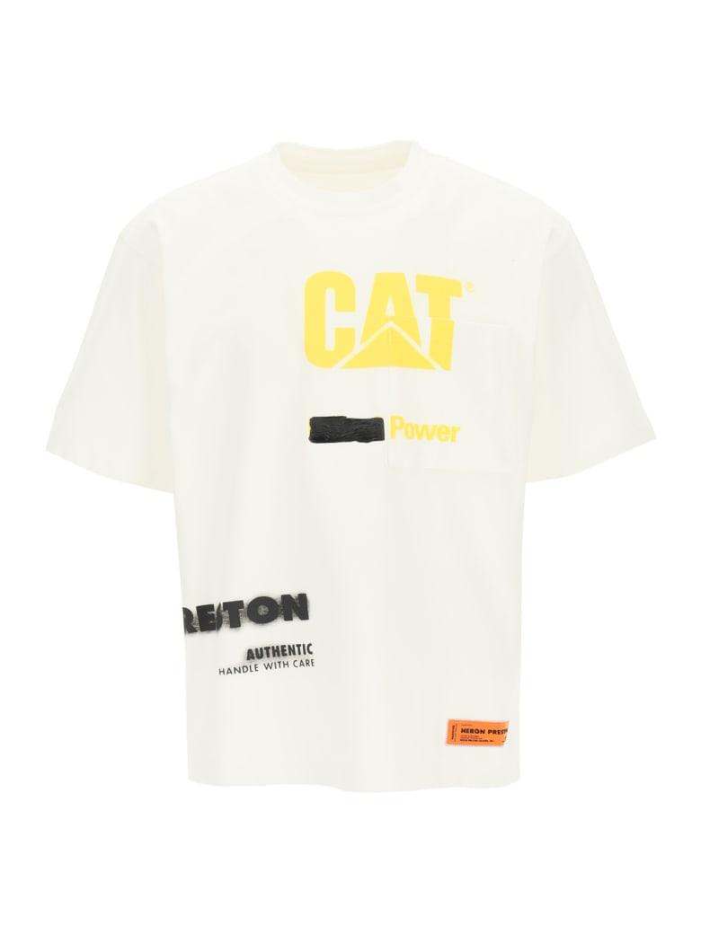 HERON PRESTON Hp X Caterpillar T-shirt - Bianco