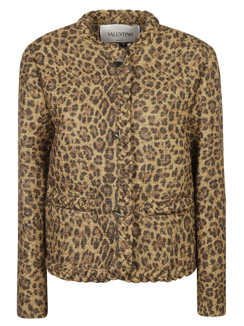 Valentino Animal Print Jacket - Animalier
