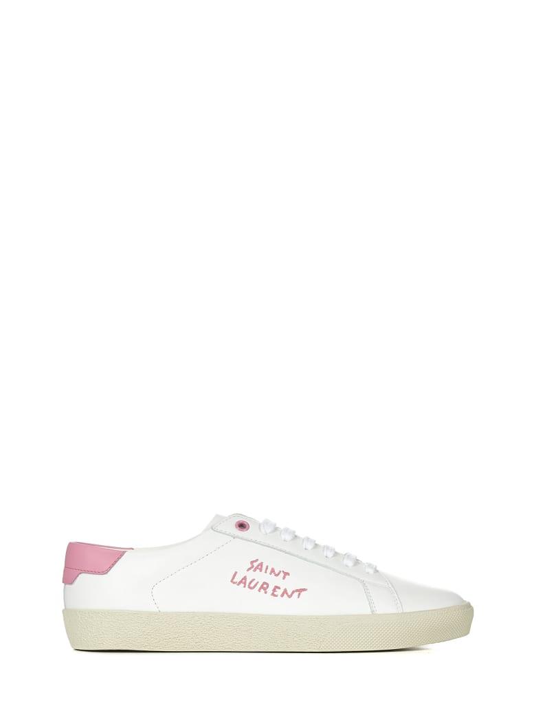 Saint Laurent Court Classic Sl/06 Sneakers - White
