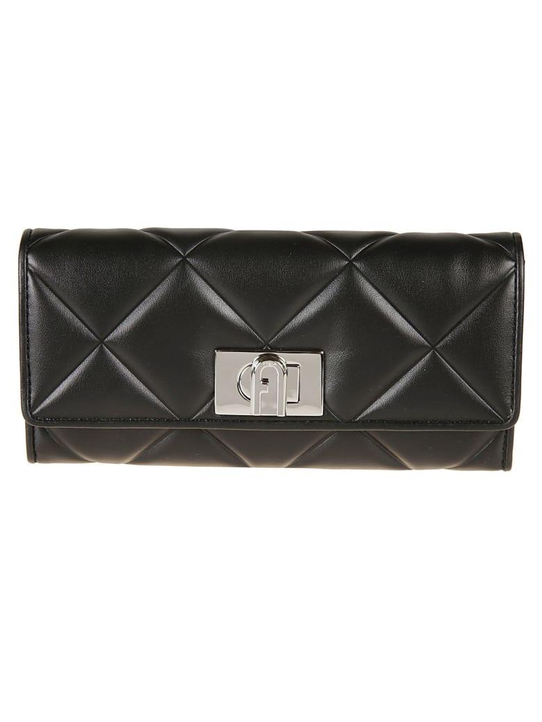 Furla 1927 Continental Wallet - Black