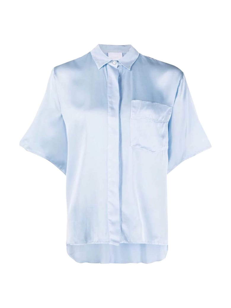 Merci Light Blue Shirt - Cielo