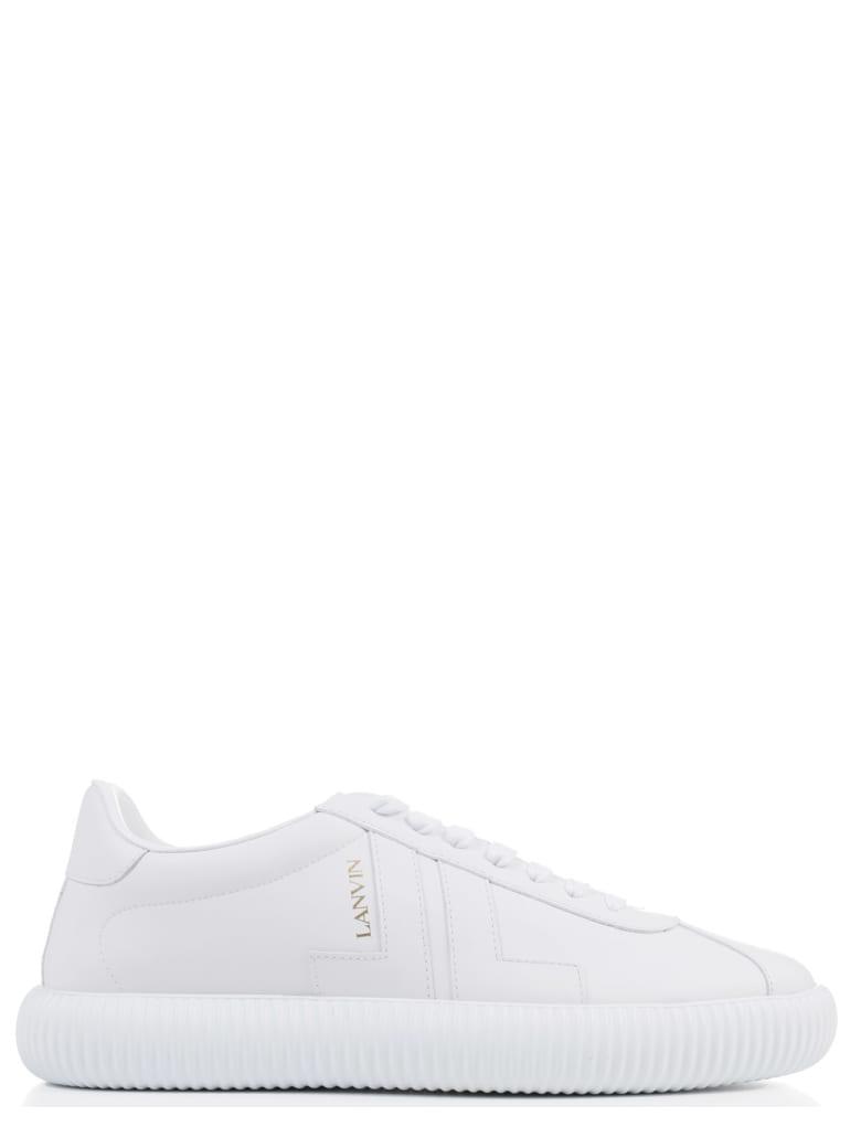 Lanvin White Glen Sneaker - White