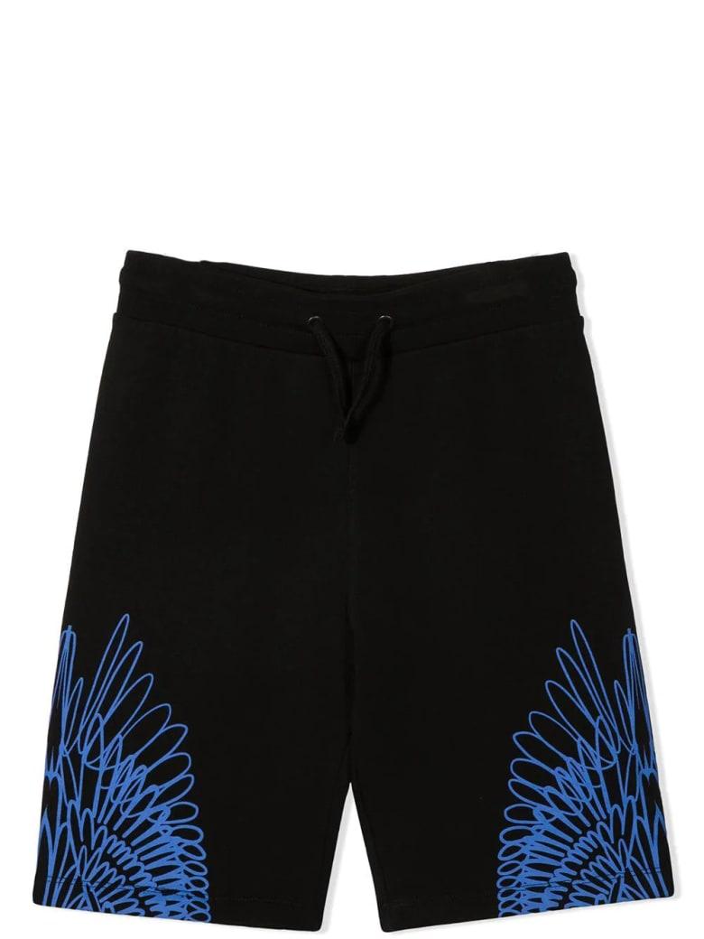 Marcelo Burlon Wings-print Track Shorts - Nero