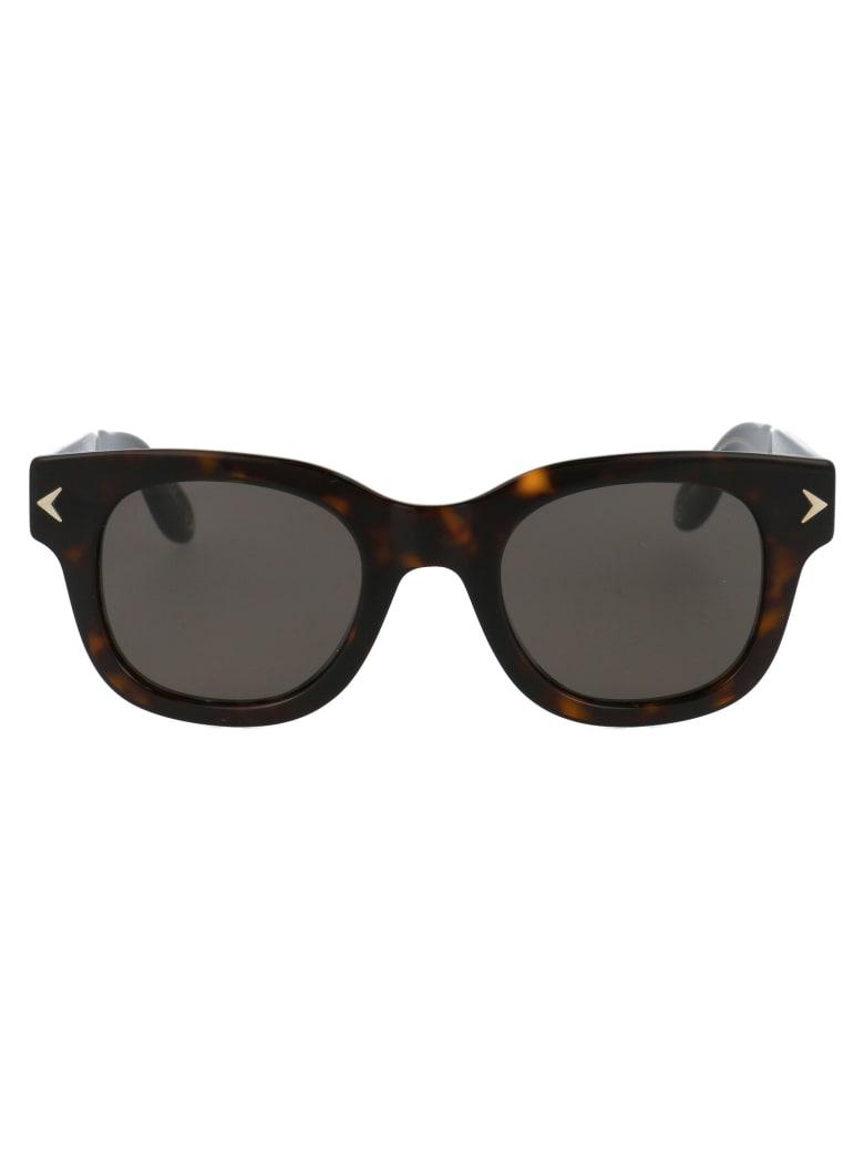 Givenchy Gv 7037/s Sunglasses - 9WZNR HAVANA BLACK CRYSTAL