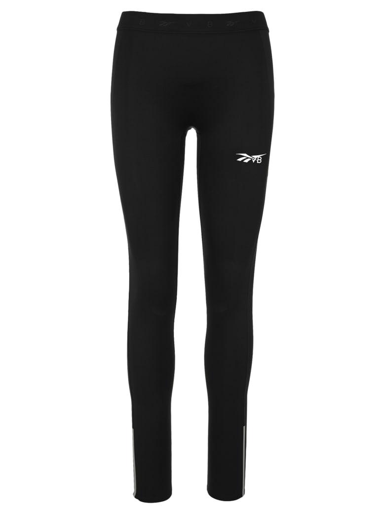 Reebok x Victoria Beckham Logo-print Low-impact Performance Leggings - BLACK