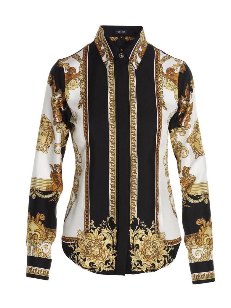 Versace 'renaissace' Shirt - Multicolor