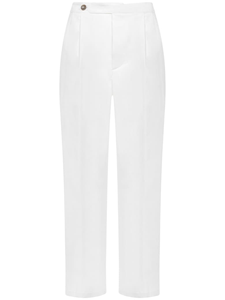 Mauro Grifoni Grifoni Trousers - White