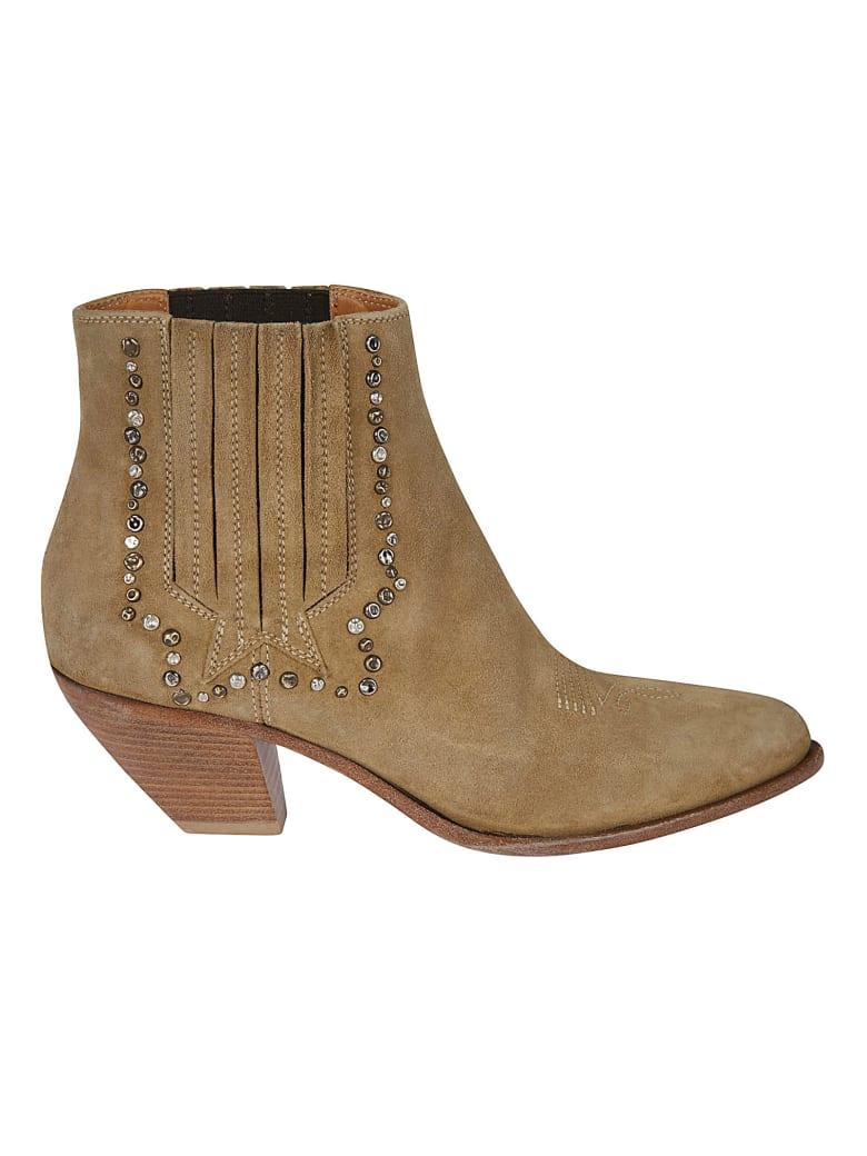 Golden Goose Sunset Boots - Brown