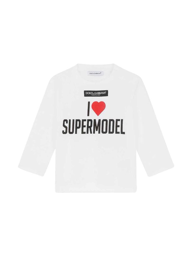 Dolce & Gabbana Newborn T-shirt - Bianco