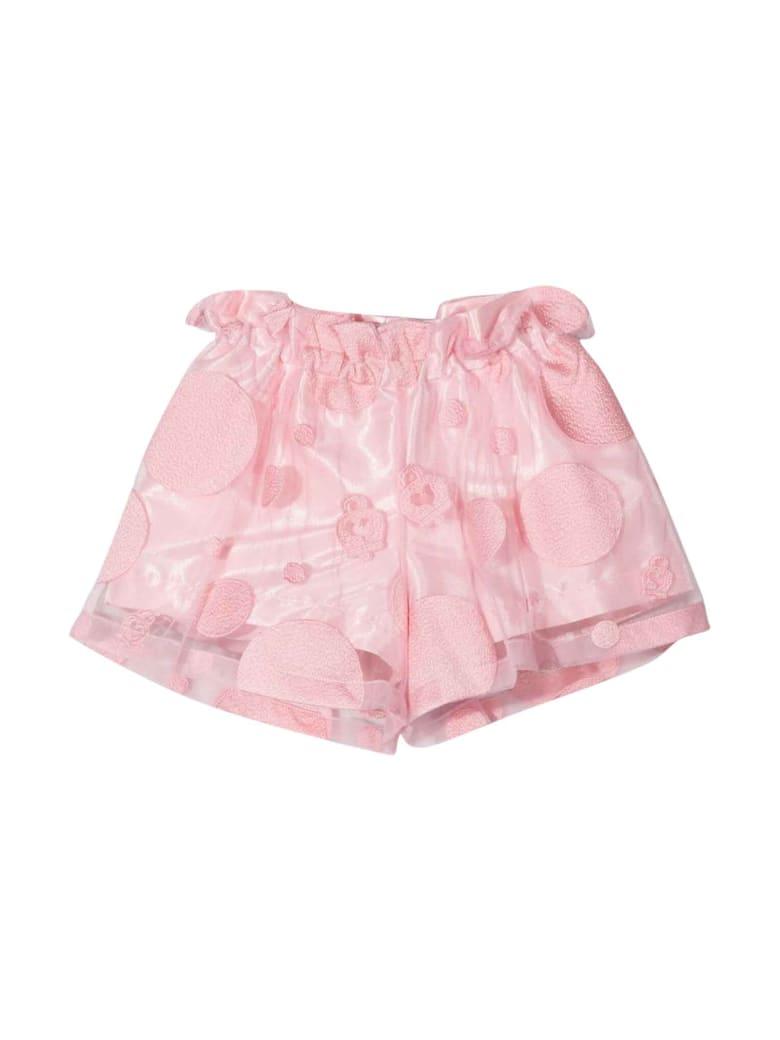 Simonetta Girl Pink Shorts