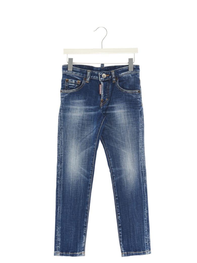 Dsquared2 'run Dan' Jeans - Blue