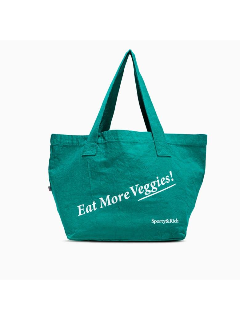 Sporty & Rich Eat Veggies Bag - TROPICAL