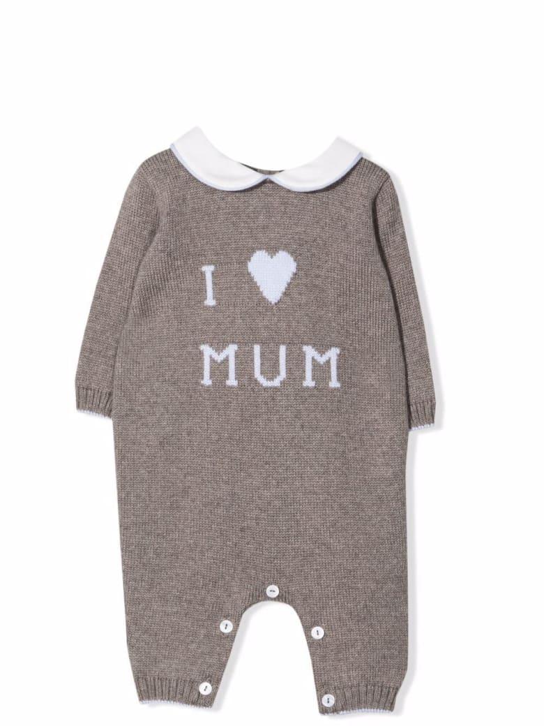 Little Bear I Love Mum Onesie - Tortora-cielo