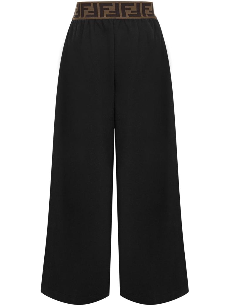 Fendi Kids Trousers - Black