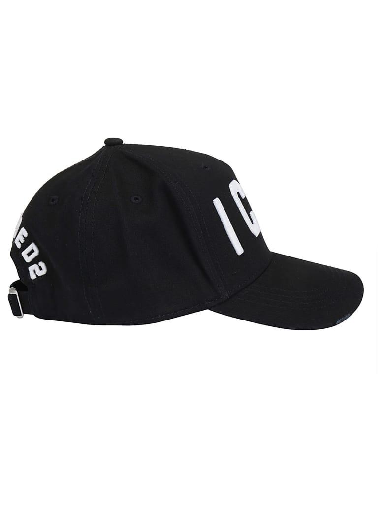 Dsquared2 Baseball Cap - Nero e Bianco