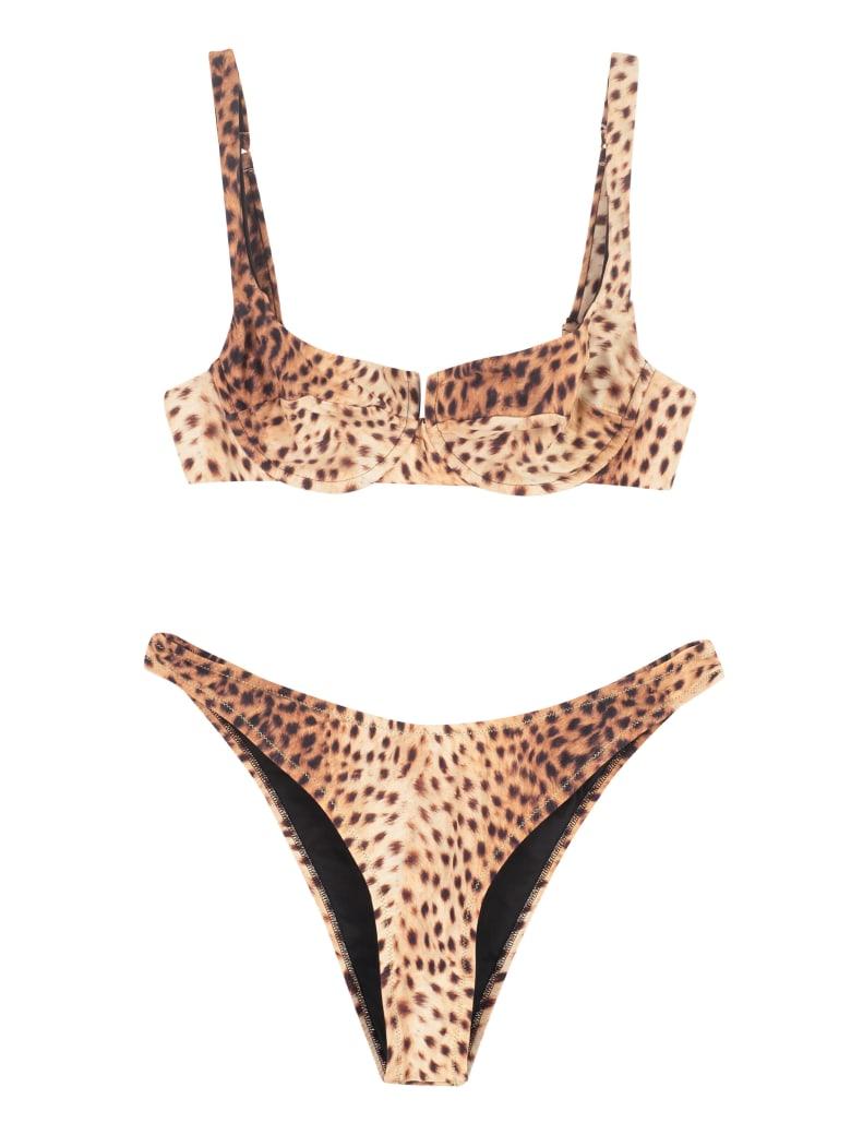 Reina Olga Brigitte Printed Bikini - Animalier