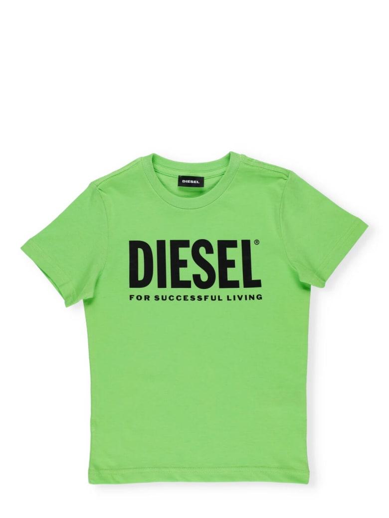 Diesel Tjustlogo T-shirt - Green