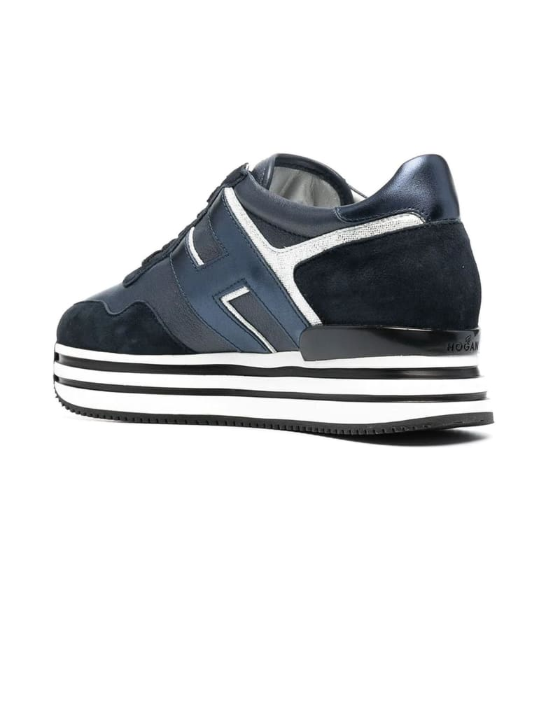 Hogan Blue Midi H222 Sneakers | Iicf, ALWAYS LIKE A SALE