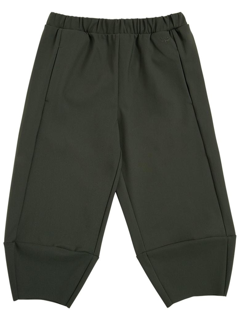 Il Gufo Green Sensitive Fabrics Jogger Pants - Green
