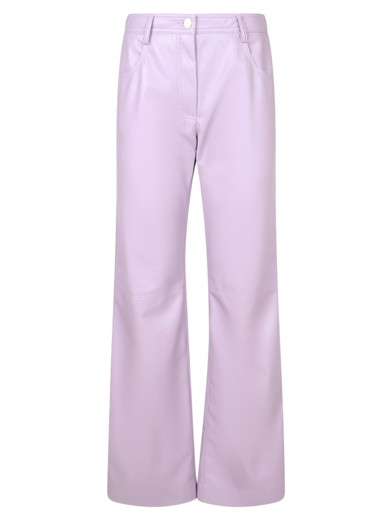 MSGM Lilac Trousers - Purple
