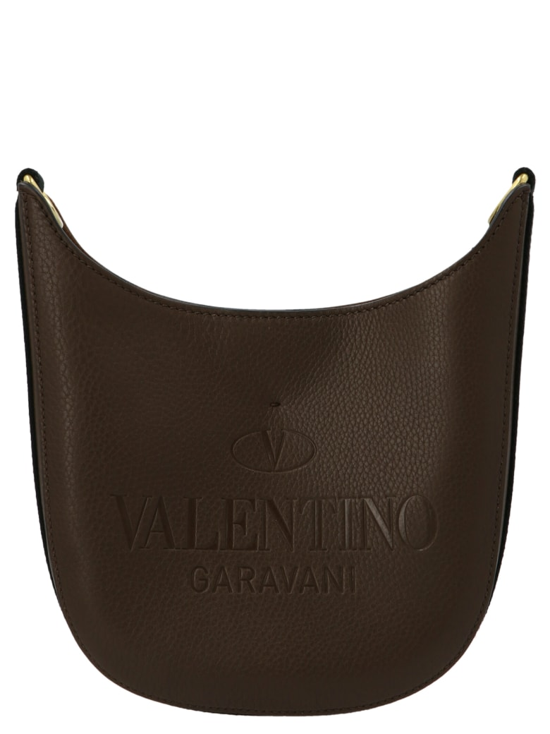 Valentino Garavani 'hobo' Small Bag - Brown