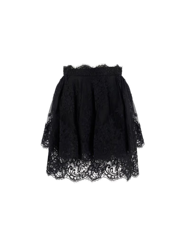 Ermanno Scervino Mini Skirt - Black