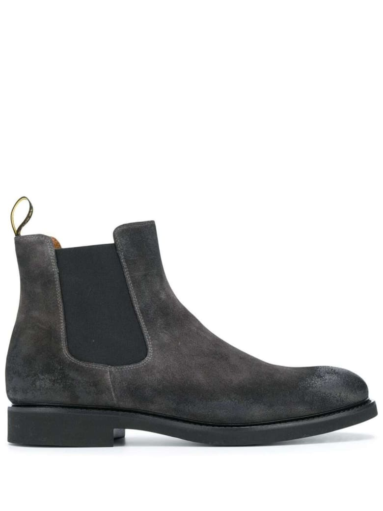 Doucal's Chelsea Suede Boots - Grey