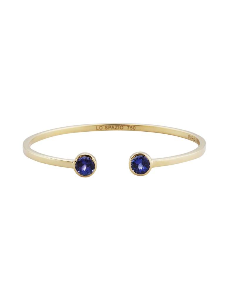 Lo Spazio Jewelry Lo Spazio Tanzanite Bangle - Purple_Blue