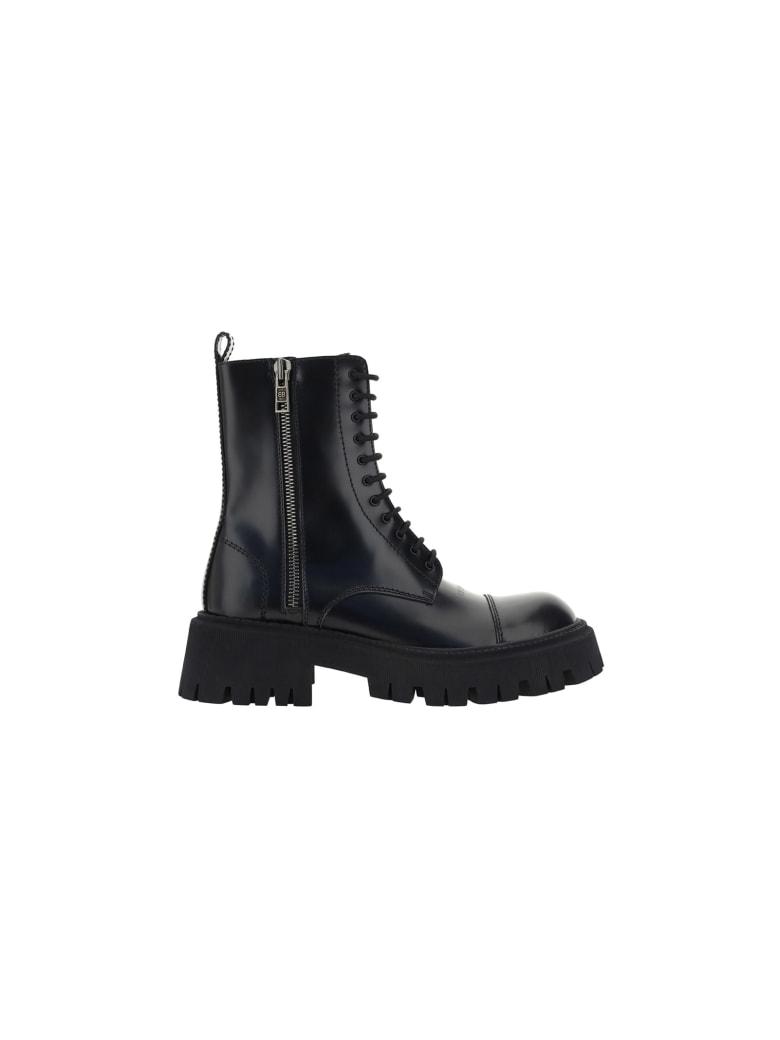 Balenciaga Tractor Boots - Nero