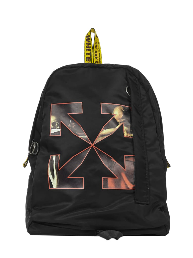 Off-White 'caravaggio Easy' Backpack - Black