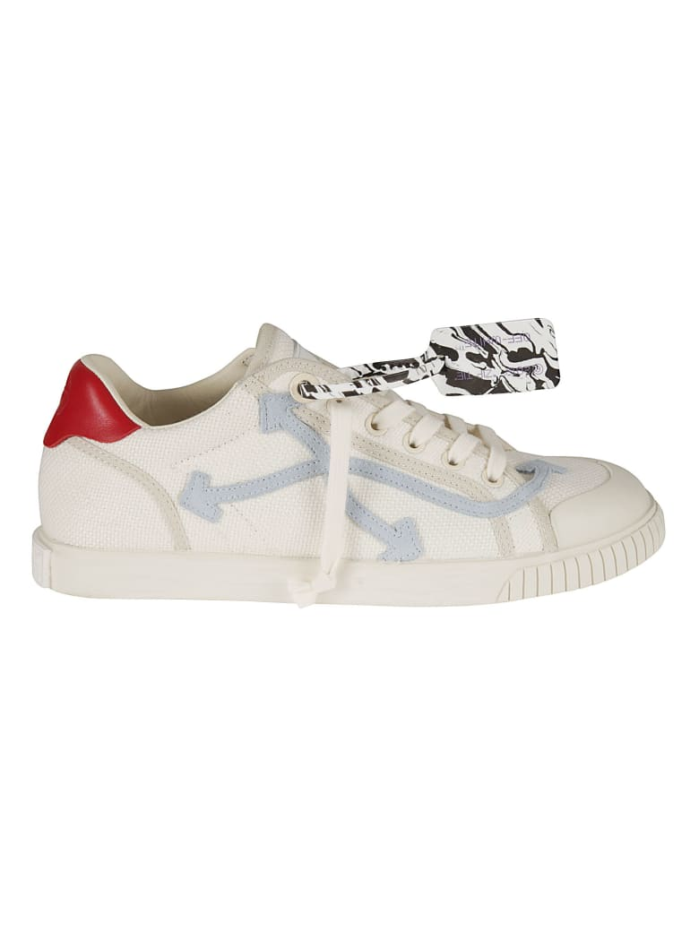 Off-White New Low Vulcanized Sneakers - White light
