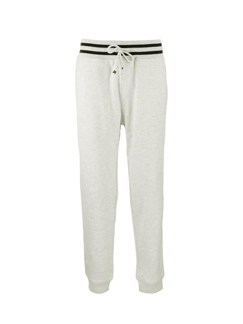 Brunello Cucinelli Lightweight Stretch Cotton Sweatpants - Pearl Grey