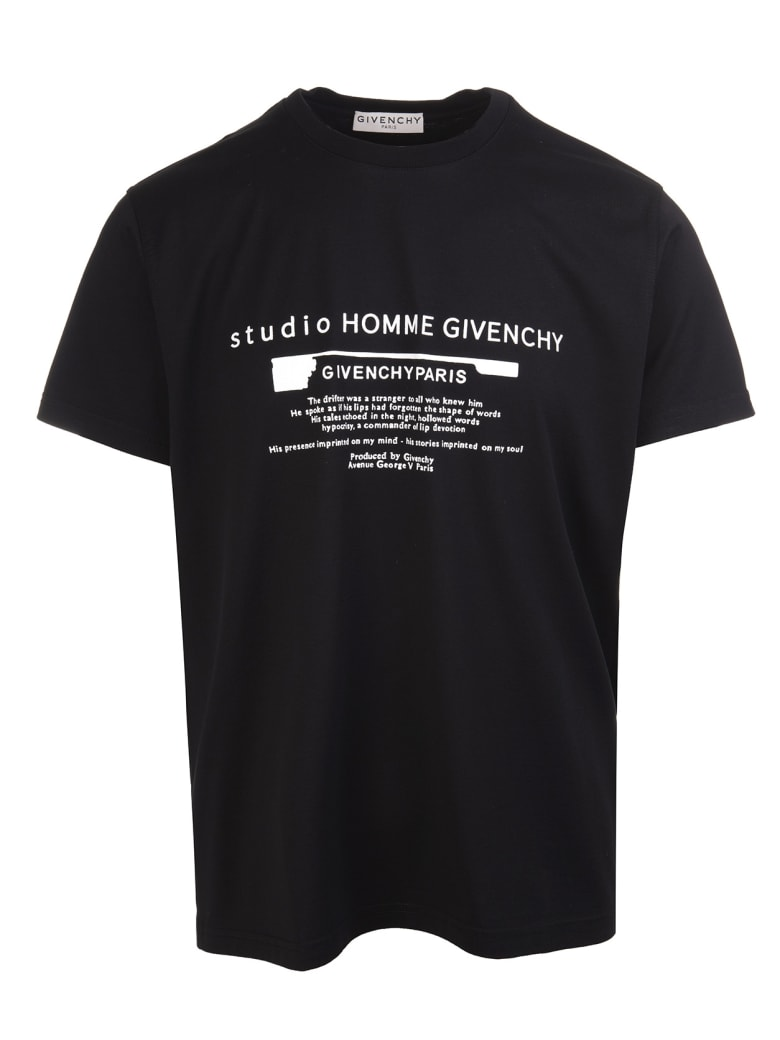 Givenchy Studio Logo-print T-shirt