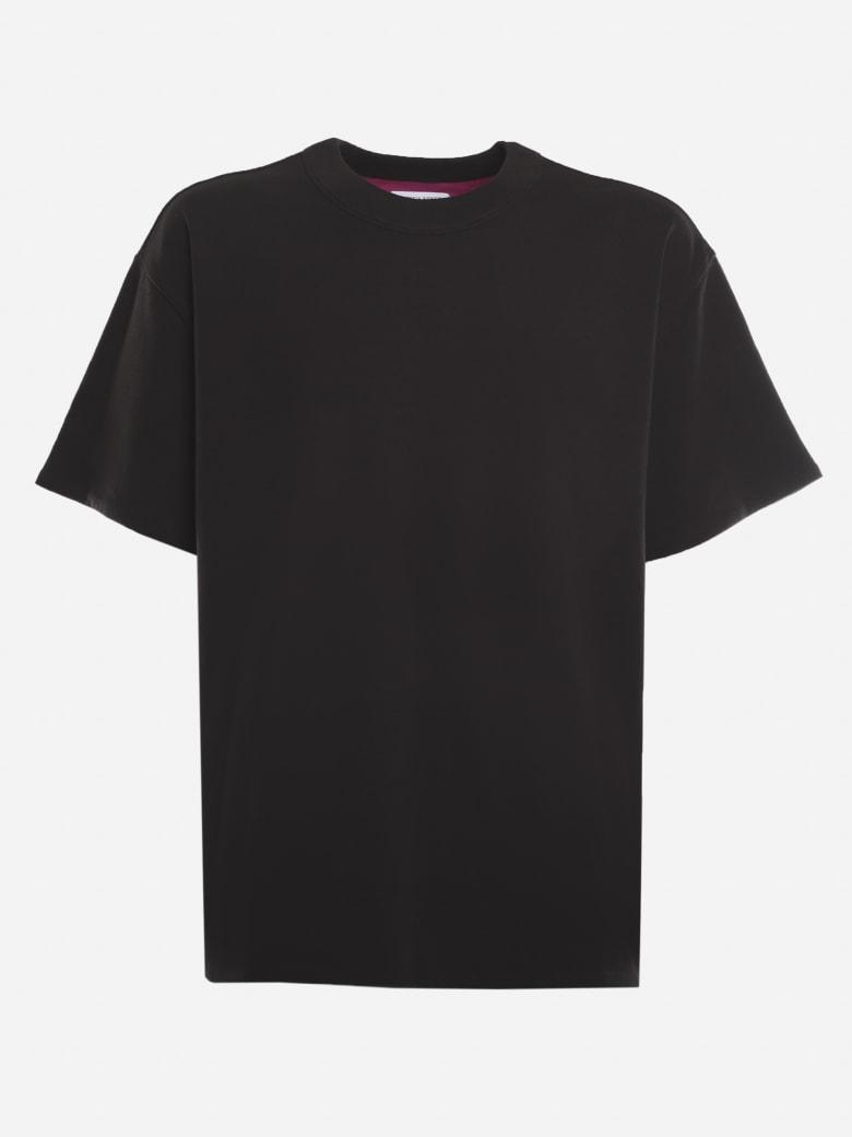 Bottega Veneta Basic Double Layer Cotton T-shirt - Foundant