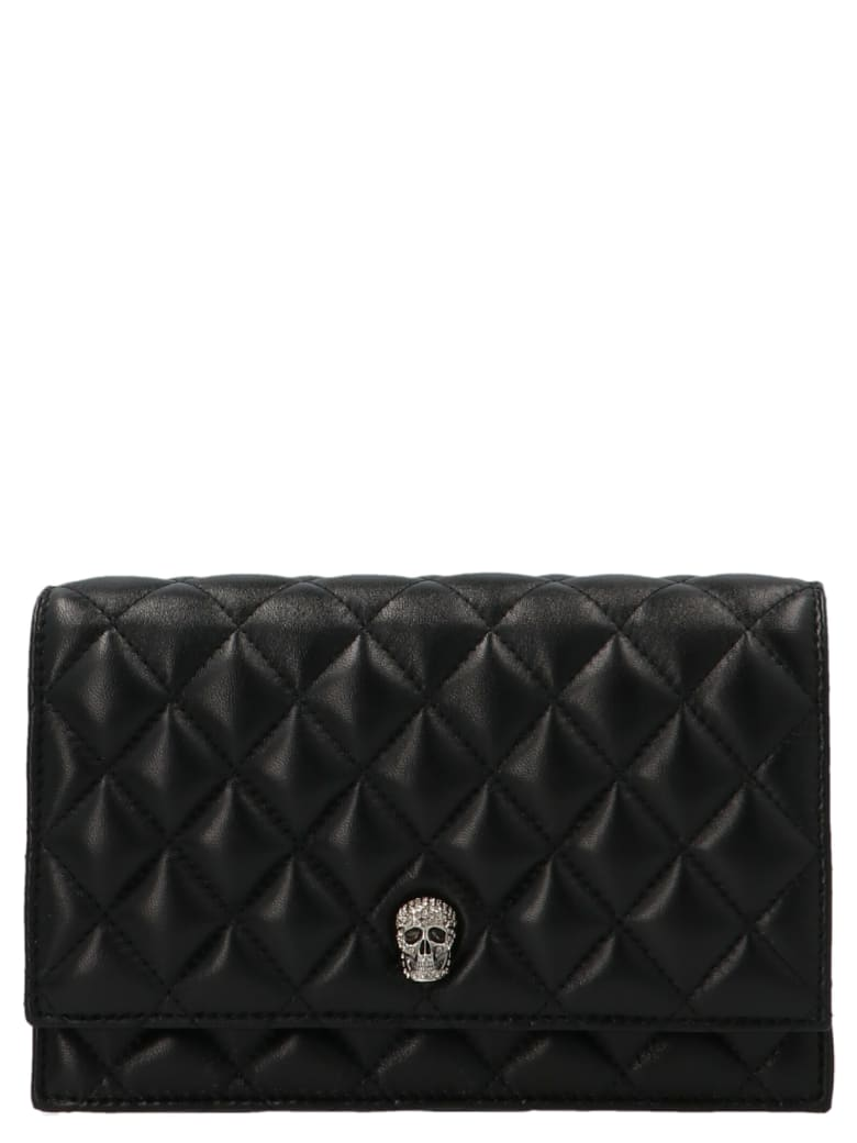 Alexander McQueen 'pave Skull' Small Bag - Black