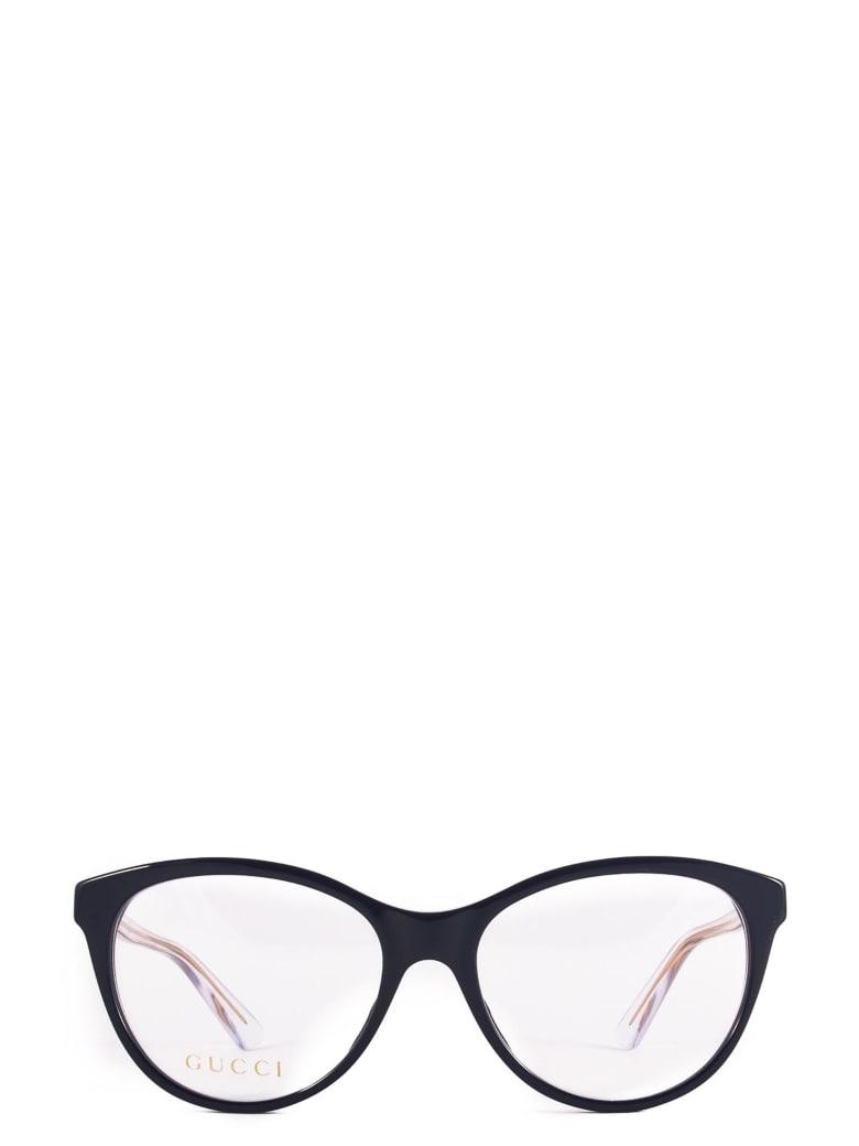 Gucci Gucci Gg0486o Blue Glasses - Blue