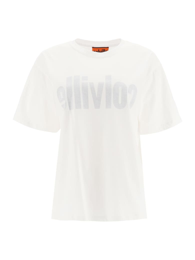 Colville T-shirt With Logo Print - WHITE (White)