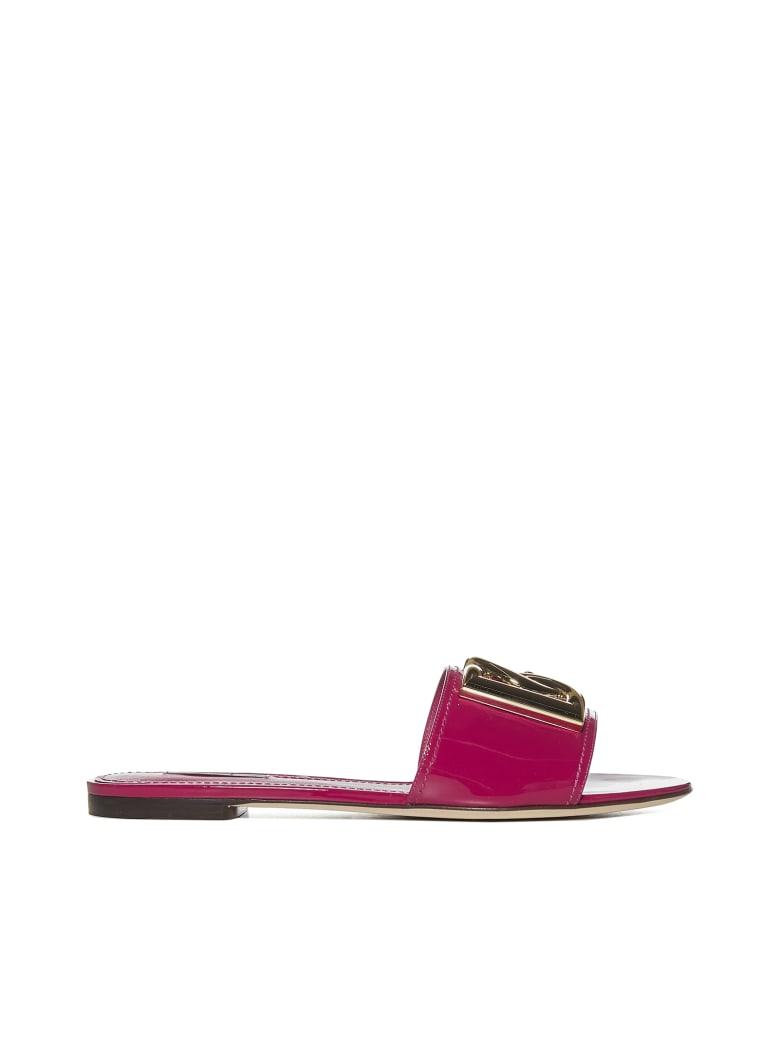 Dolce & Gabbana Flat Shoes - Fucsia