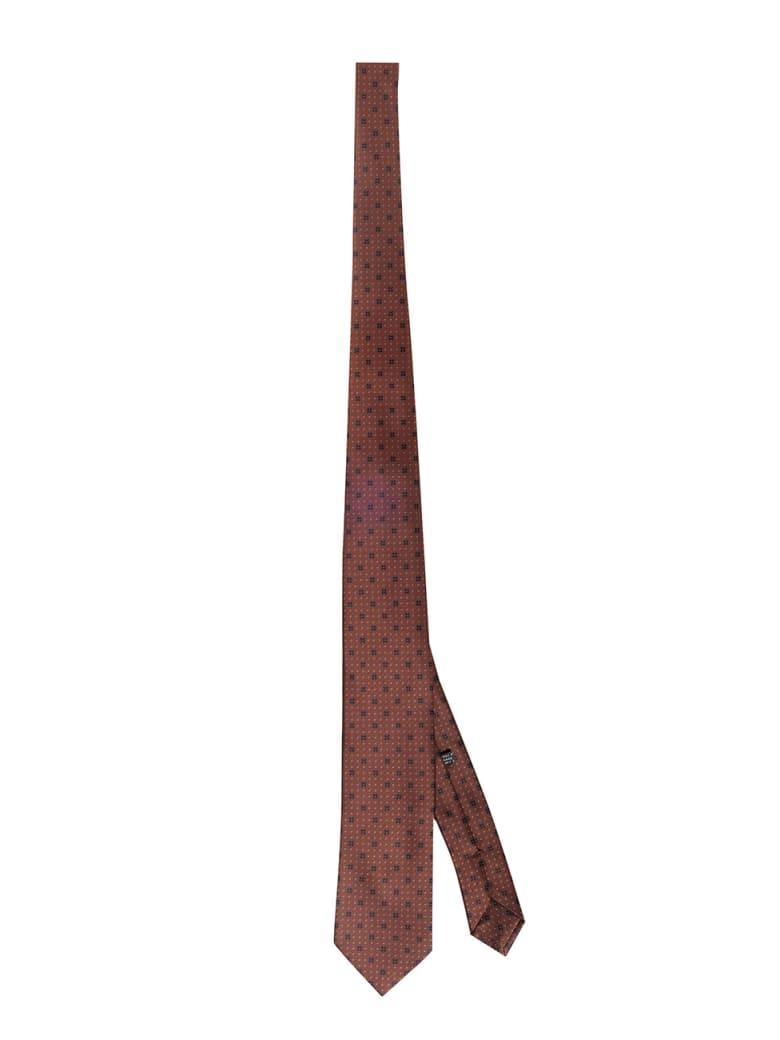 Stefano Ricci Silk Tie - Brown