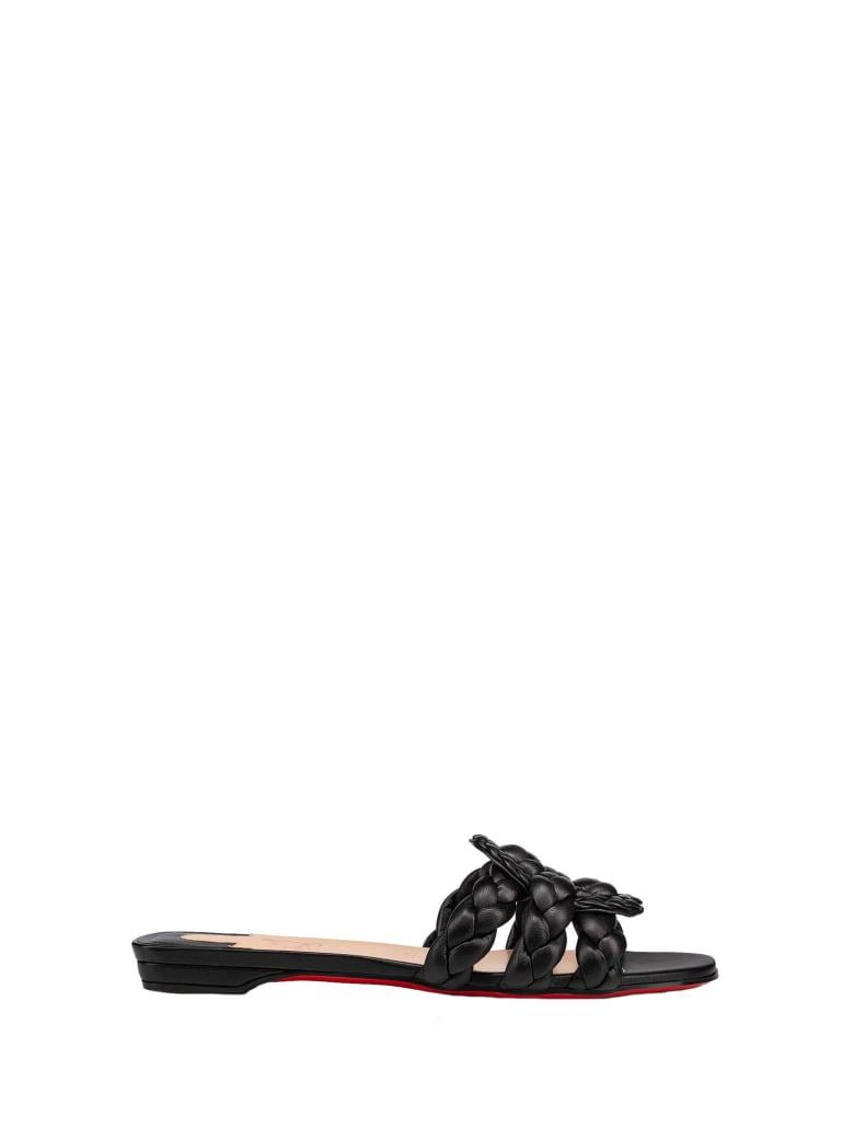 Christian Louboutin Christian Louboutin Marmela Flat Shoe - BLACK