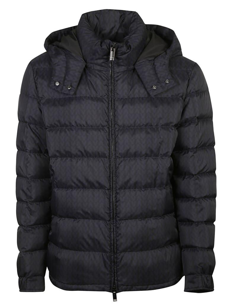Valentino Classic Zip Padded Jacket - Black