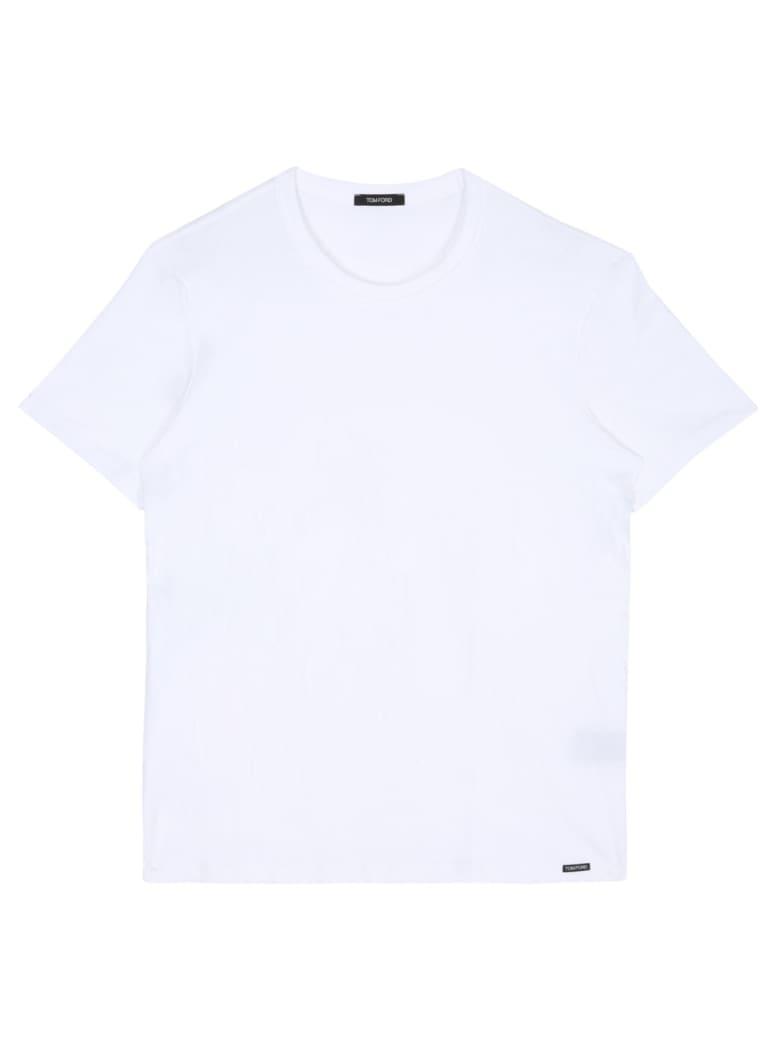 Tom Ford Crew Neck T-shirt - WHITE