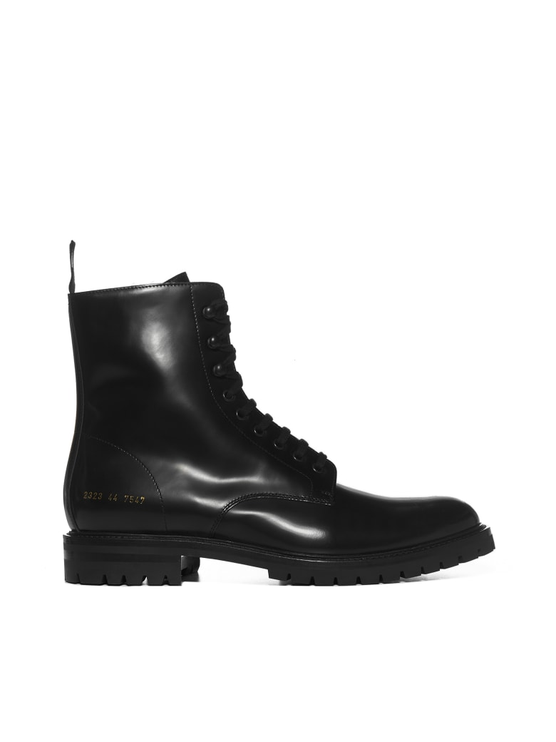 Common Projects Boots - Black