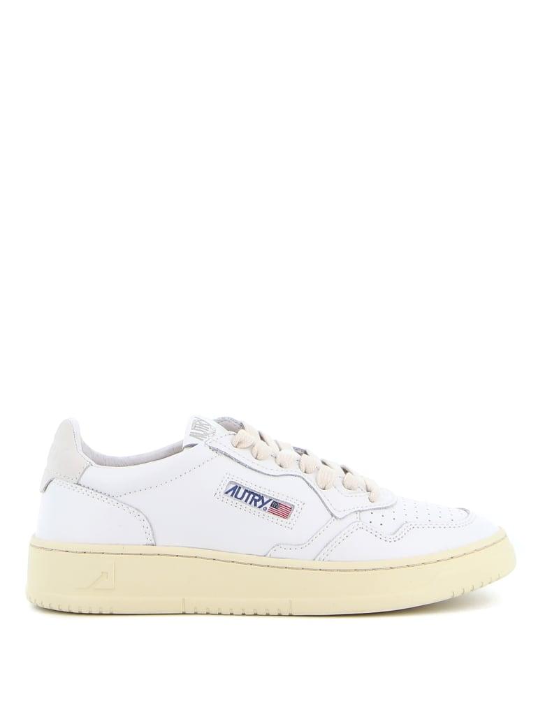 Autry Sneakers Leather Nylon - White